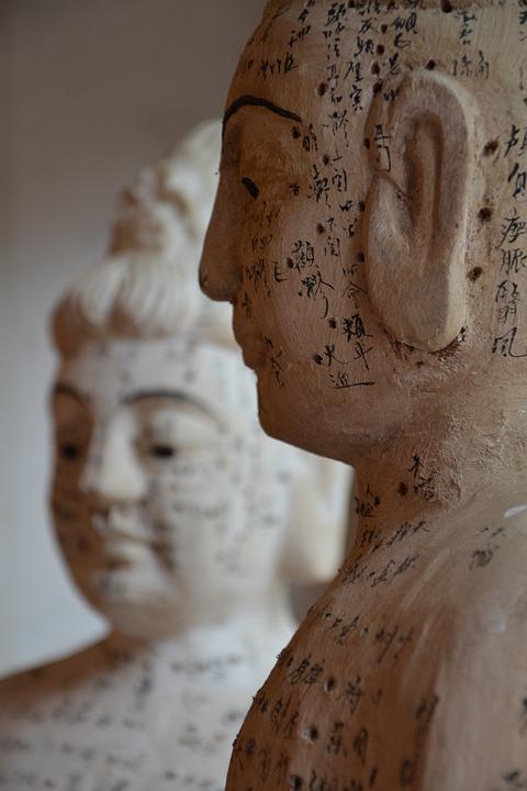 Puntos de acupuntura china