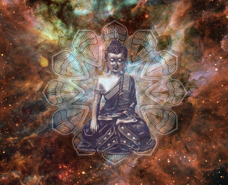 guia espiritual, universo, buda